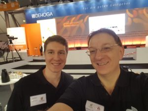 Julian Färber und Klaus Hamal - Gewinner des Innovationspreises 2018