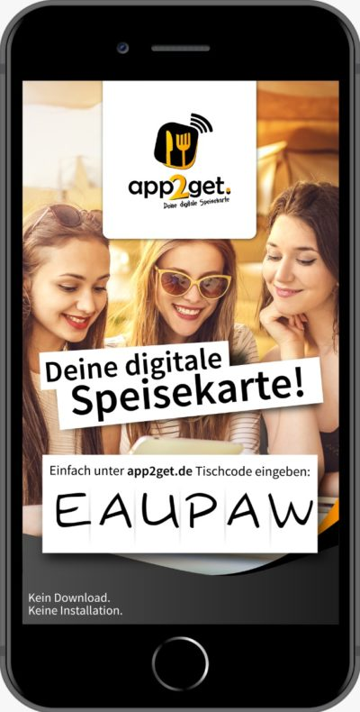 Digitalisierung durch Digitale Speisekarten in der Gastronomie mit app2get erleichtern
