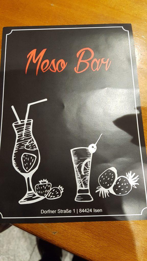 Meso-Bar in Isen hat neu eröffnet