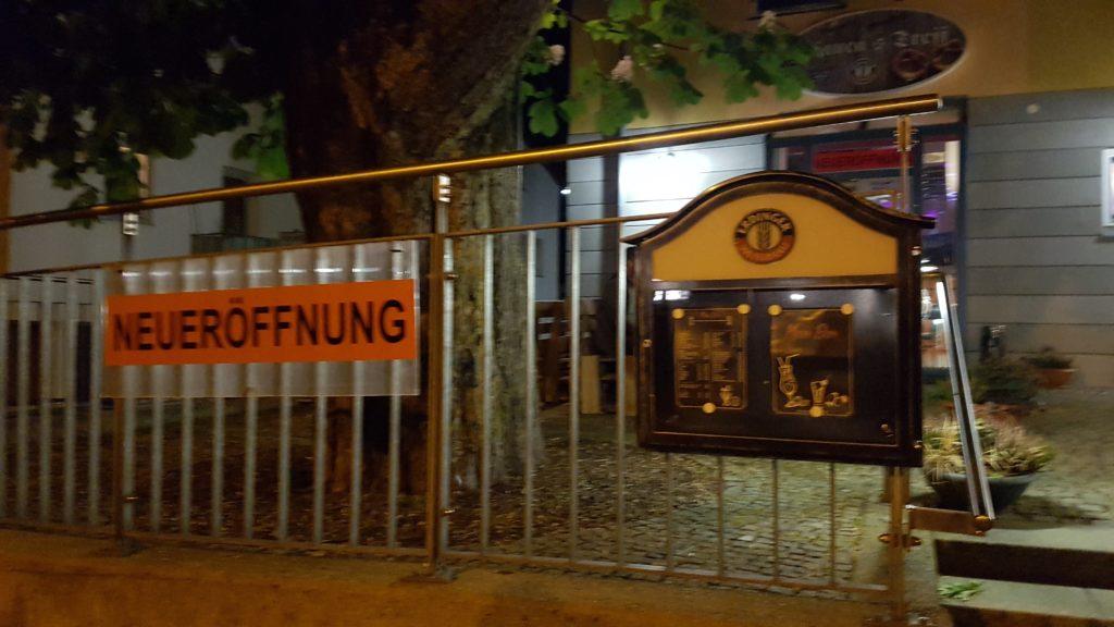 Neueröffnung der Meso-Bar neben dem Indischen Restaurant Delhi