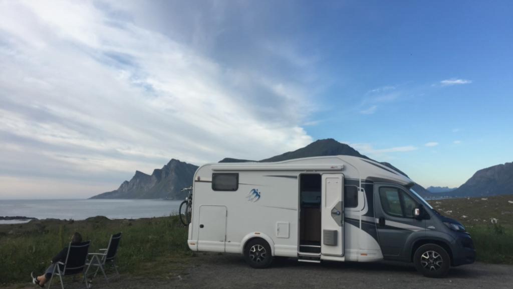 Auf den Lofoten mit dem Reisemobil Urbanik aus Isen