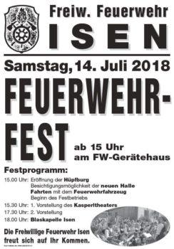 Feuerwehrfest Isen