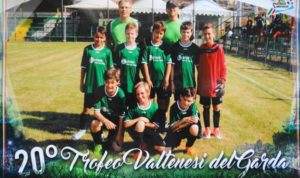 E1 Jugend des TSV Isen am Gardasee beim internationalen Fußballturnier