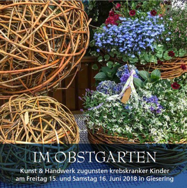 Kunst im Obstgarten Isen Giesering bringt hohen Spendenerlös für die Haunersche Kinderklinik in München