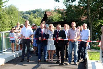 Isen-Brücke offiziell freigegeben