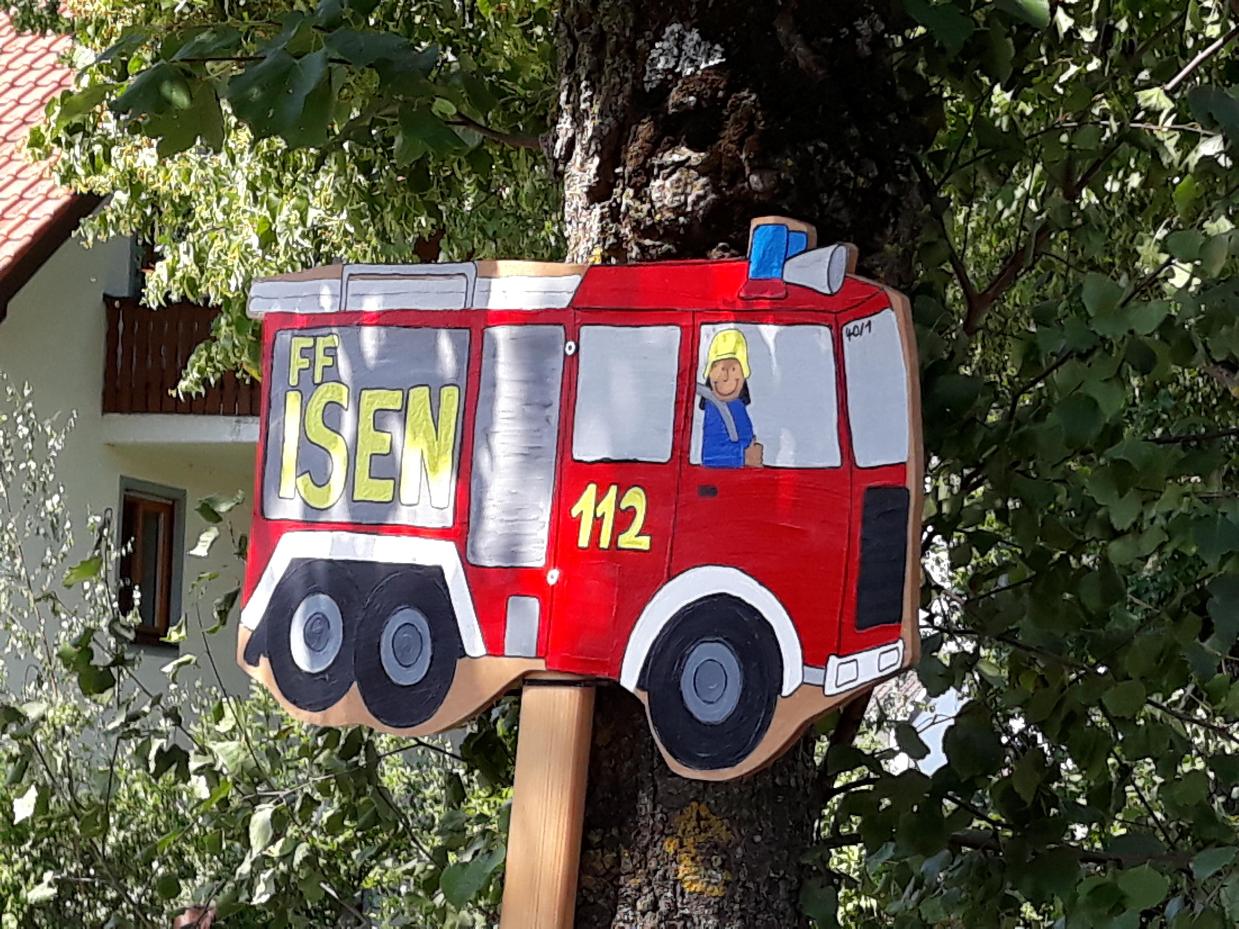 Neues Einsatzfahrzeug der Feuerwehr Isen?