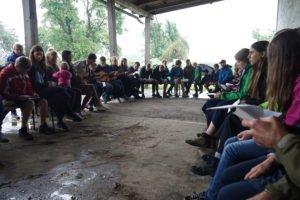 Pfadfinderfest der Isener Pfadfinder Kinder in Mittbach