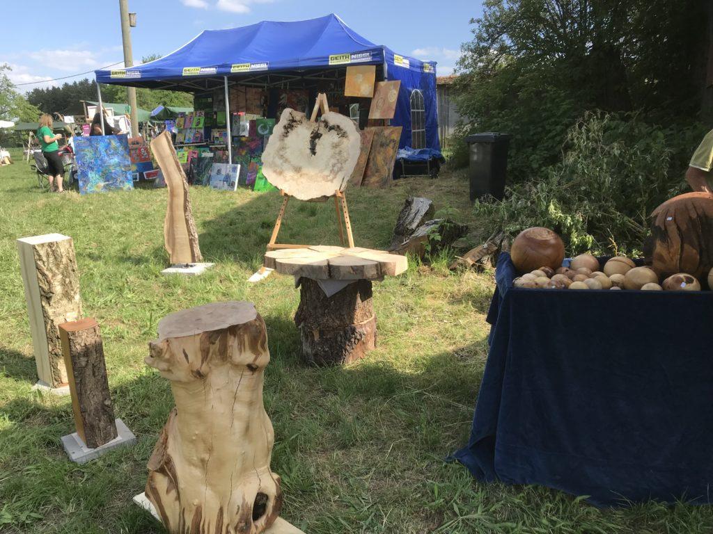 Kunst im Obstgarten in Isen Giesering konnte über 1000 Besucher verzeichnen