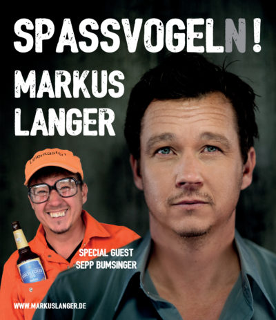 """Markus Langer Solo – """"Spaßvogel(n)!"""""""