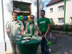 Infostand der Isener Grünen am Samstag