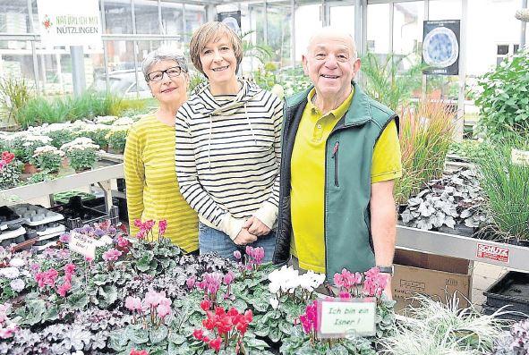 Blumen Brechter – Tochter Ulrike Taube übernimmt das Geschäft in Isen