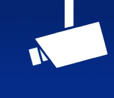 Genormtes Symbol für Videoüberwachung