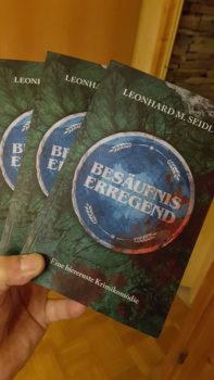 Neuer Roman des Isener Schriftsteller Leonhard Seidl – Verlosung von 3 Exemplaren