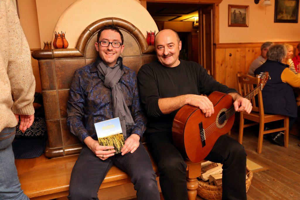 Wirtschafts-Lesung in Burgrain