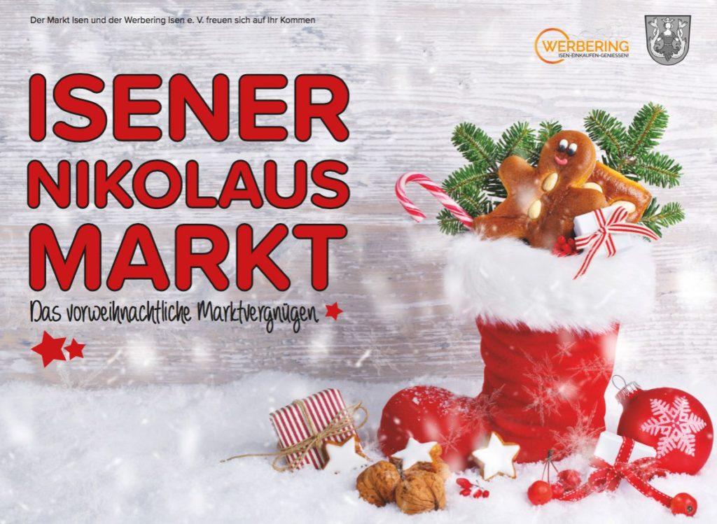 Nikolausmarkt Isen 2018