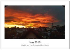 Jetzt den Kalender Isen 2019 vorbestellen