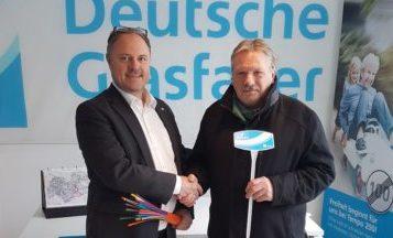 Deutsche Glasfaser: Servicepunkt in Isen geöffnet