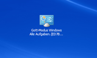 Gott-Modus in Windows entdecken