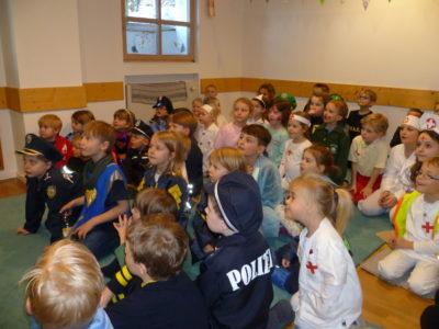 Blaulichtwochen im Kath. Kindergarten & Hort St. Zeno