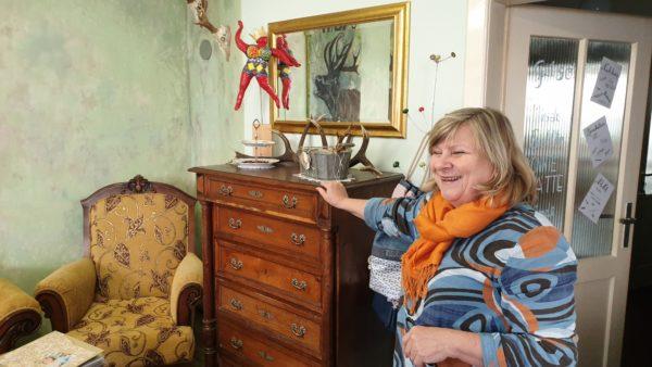 Neues Atelier von Claudia Taub in Isen ist zugleich eine Zeitreise bei Frisör Raich