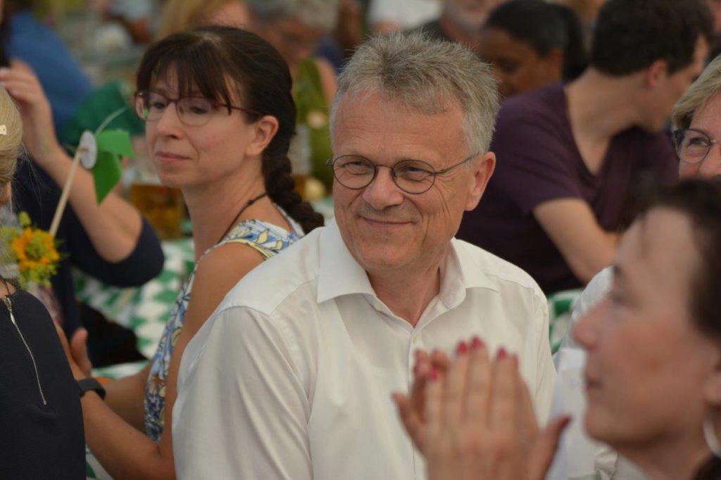 Bürgermeister Hans Schreiner Bockhorn (Freie Wähler) ist Landratskandidat für den Landkreis Erding der Grünen/SPD/FreieWähler