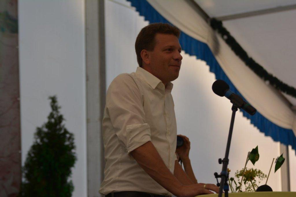Florian Geiger - Bürgermeisterkandidat für Isen