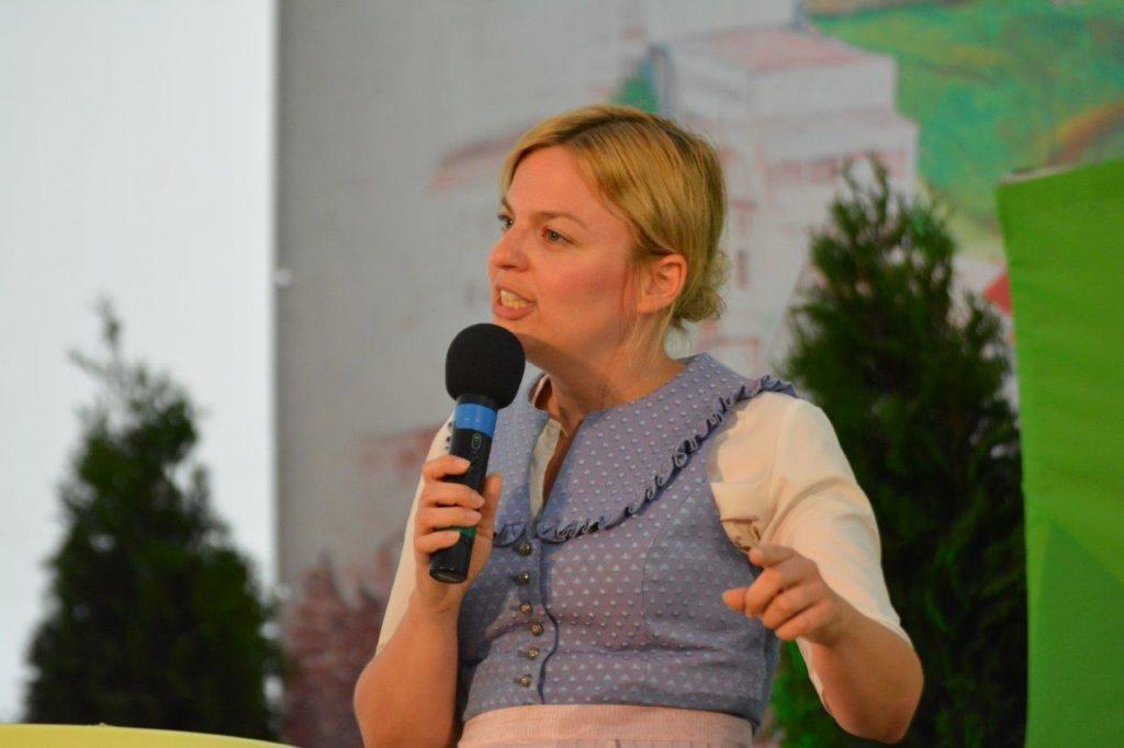 Fraktionssprecherin der Grünen im Landtag - Katharina Schulze