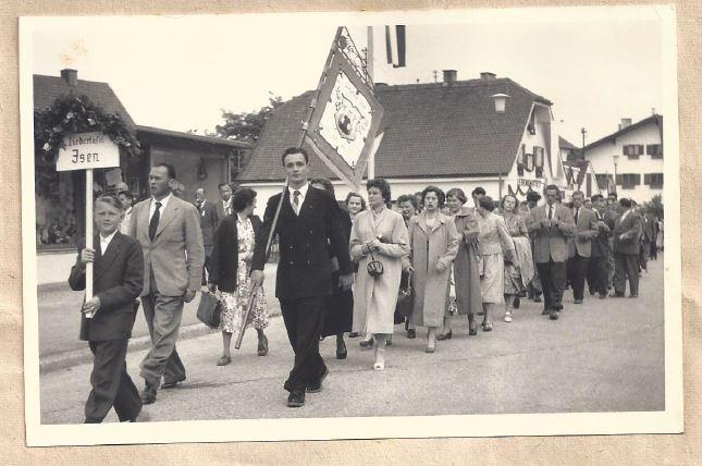 Gäusänger-Fest-1955-Töging