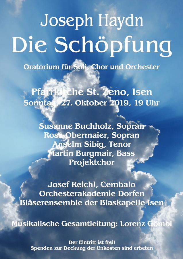 Kultureller Sonntag Abend in St. Zeno - Josef Haydn wird aufgeführt