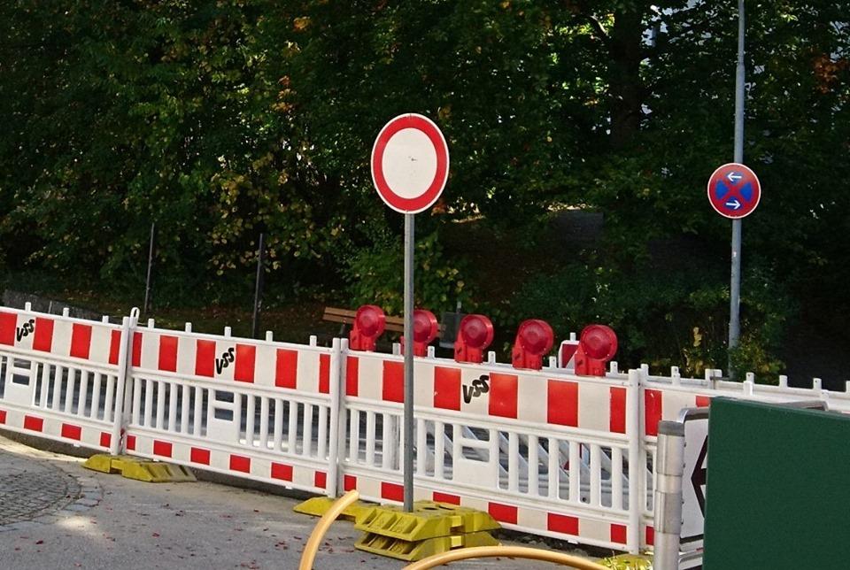 """Durchfahrt """"Am Gries"""" für 2 Wochen bis 15.11.2019 gesperrt"""