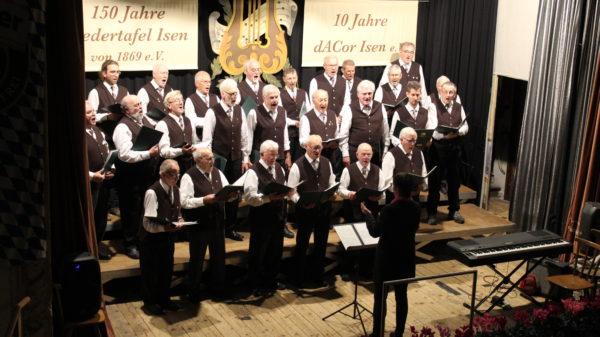 Video zur 150-Jahr Feier der Liedertafel mit 10 Jahre dACor