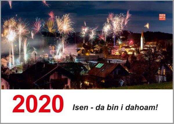 Gewinner für Fotowettbewerb Isen Kalender 2020 stehen fest - Kalender jetzt bestellen