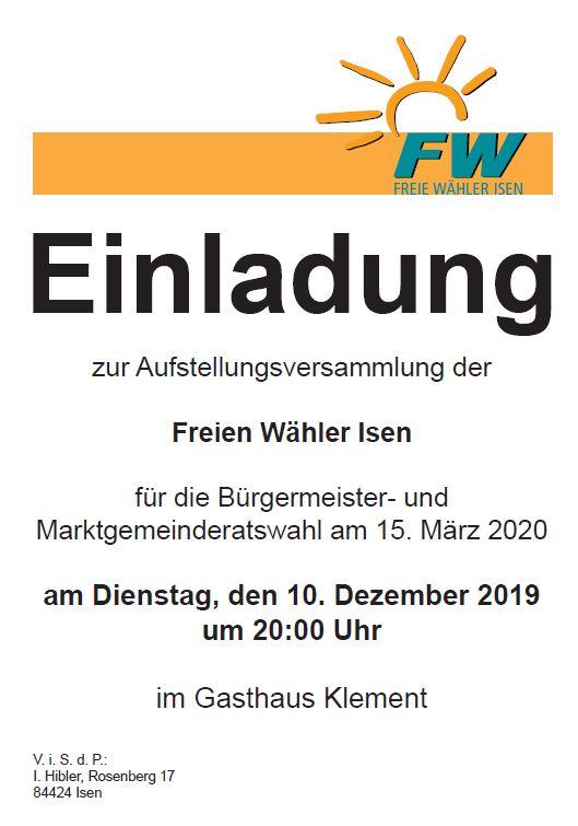 Aufstellungsversammlung-FW-Isen-2019