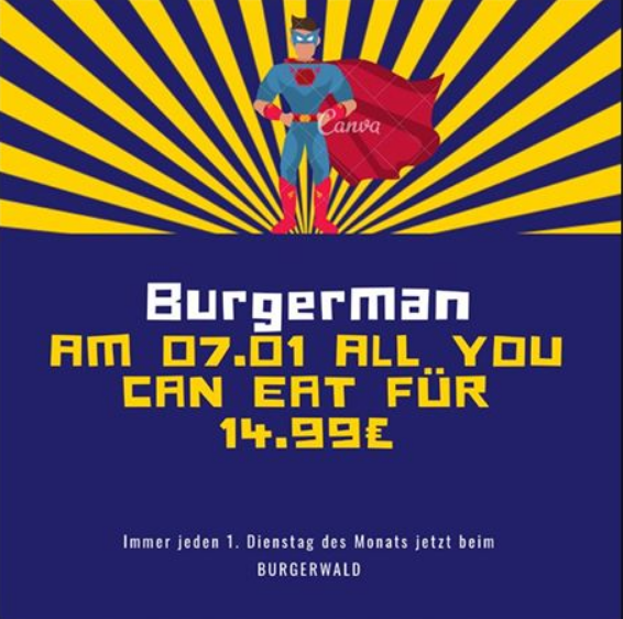 All-you-can-eat in Isen beim Burgerwald