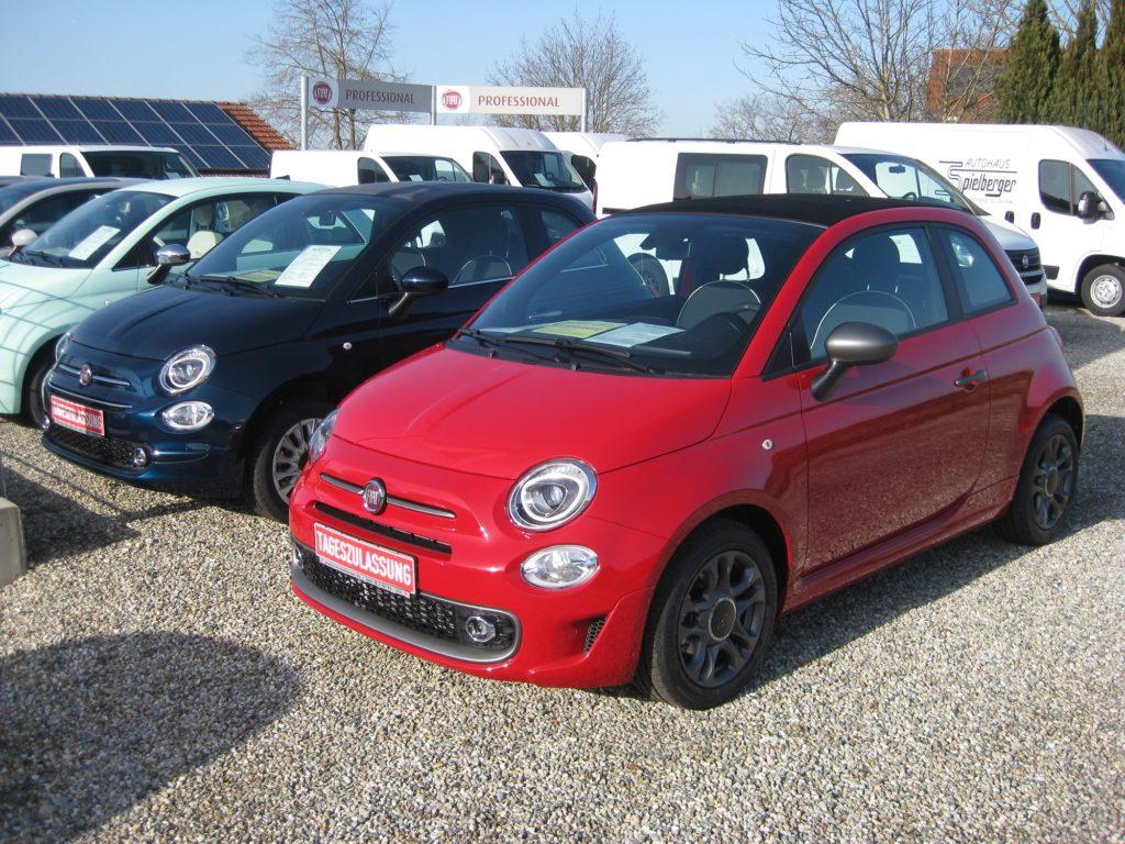 Fiat 500 letzte reine Benziner Spielberger Isen