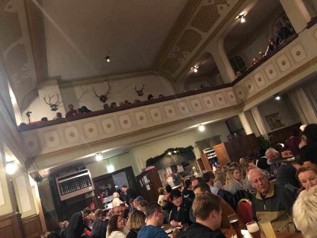 Klement-Saal Podiumsdiskussion Isen Bürgermeisterkandidaten