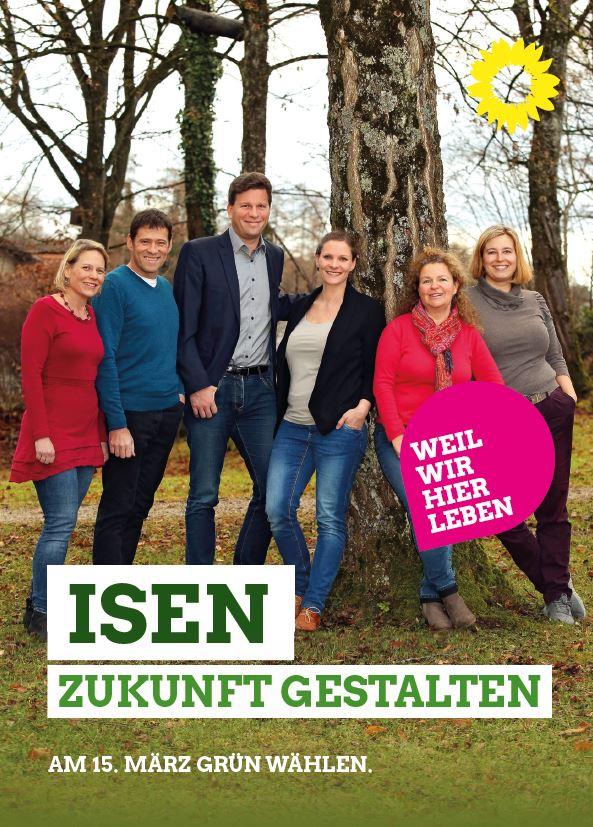 Wahlprogramm der Grünen in Isen