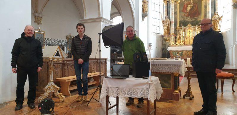 Erster Live-Stream Gottesdienst in Isen St. Zeno am Sonntag, 29. März 2020 um 10.00 Uhr