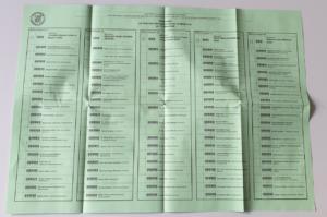 Stimmzettel Marktgemeinderatswahl Isen 2020 - Hier dürft Ihr 20 Stimmen beliebig auf Eure Lieblings-Kandidaten verteilen. Das Listenkreuz oben ist hier nicht besonders wichtig, sondern die einzelnen Kandidaten. Ein Kandidat darf maximal 3 Stimmen der 20 bekommen, so dass Ihr z.B. 6 Kandidaten jeweils 3 Stimmen geben könntet und dann noch 2 Kandidaten jeweils 1 Stimme. - Wählt hier besonders die aus, die sich in Isen engagieren und sich regelmäßig einbringen.