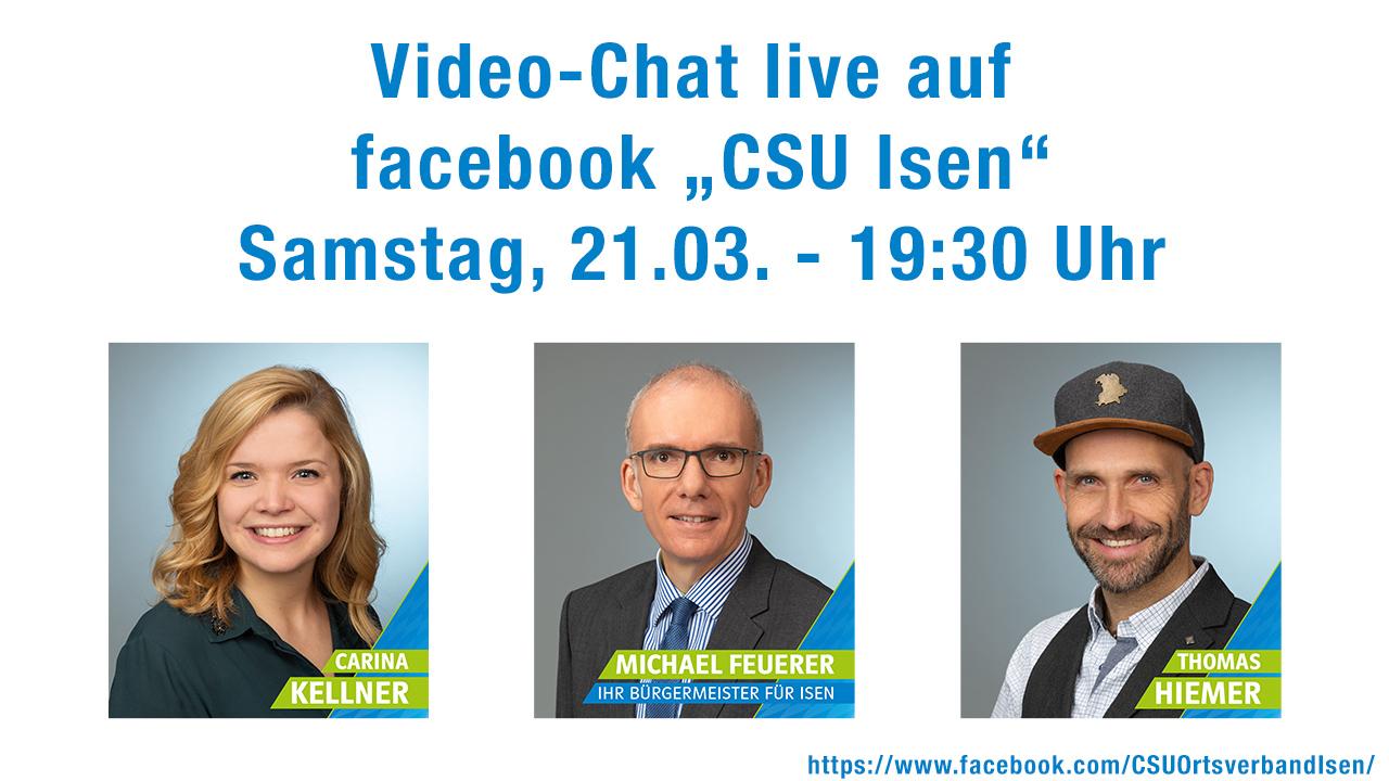 Wahlwerbung: Video-Chat – CSU Michael Feuerer live auf facebook