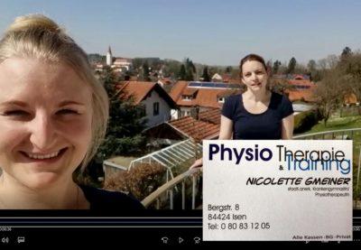 Fit bleiben zu Hause: Videotipps von den Physio-Profis