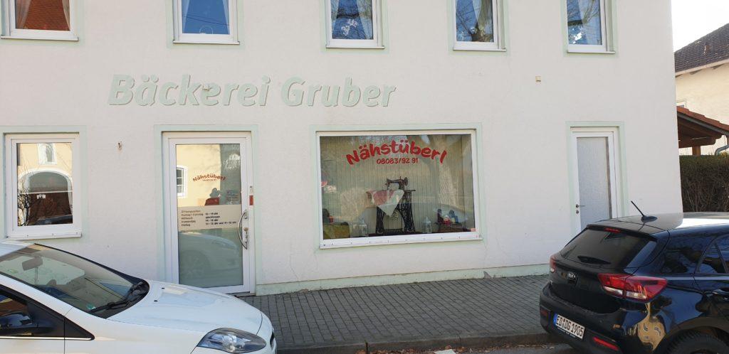 Nähstüberl Isen im ehemaligen Bäckerei Gruber Laden