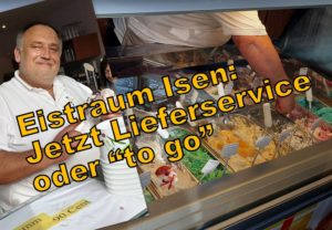 Eistraum Isen bietet Eis zum Liefern ab 10 Euro an