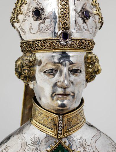 Studioausstellung Silberkopf: Die Büste des heiligen Zeno