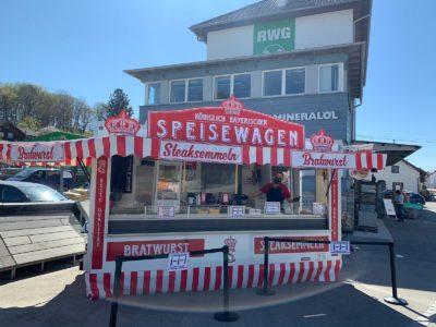 Königlich Bayerischer Speisewagen: Schon ab Dienstag in Isen - 5-Euro-Gutscheine zu gewinnen!