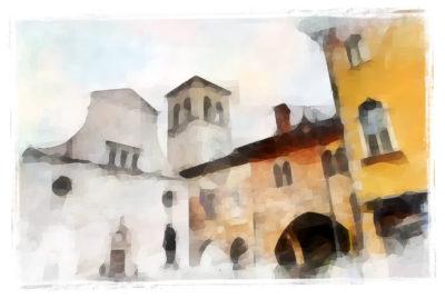 Bella Italia als Kunstprojekt: Langheinrich präsentiert italienische Landschaften in Isen