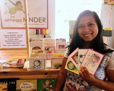 """Liebevoll handgefertigt: """"Cards & more by Joy"""" bietet individuelle Grußkarten für alle Anlässe"""