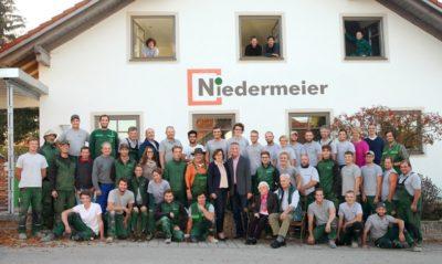 50 Jahre Niedermeier Garten- und Landschaftsbau GmbH