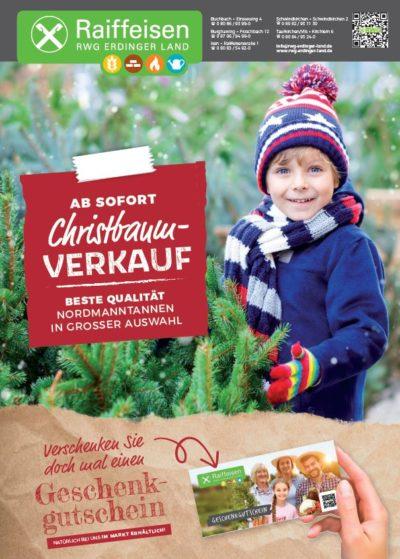Raiffeisenmarkt: Christbaumverkauf startet