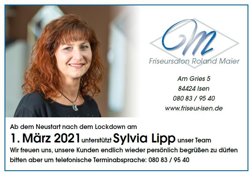 Sylvia Lipp unterstützt Maier-Team